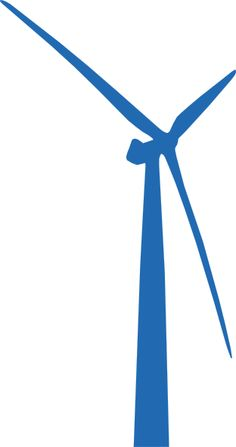 Wind Turbine Digital Graphic Download Printable Wind Energy Image.