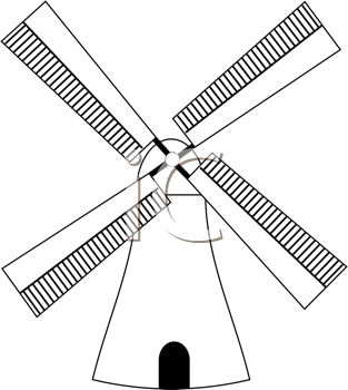 Windmill Clipart Dutch.