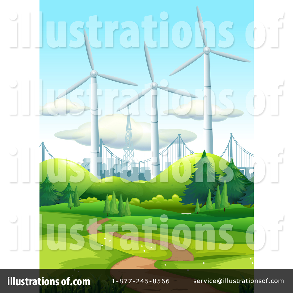 Wind Turbine Clipart #1466876.