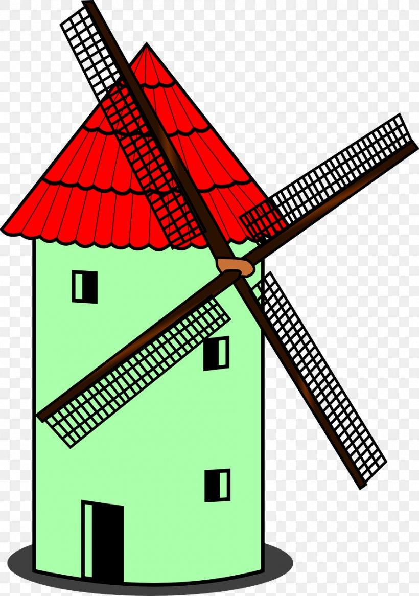 Windmill Windpump Clip Art, PNG, 900x1280px, Windmill, Area.