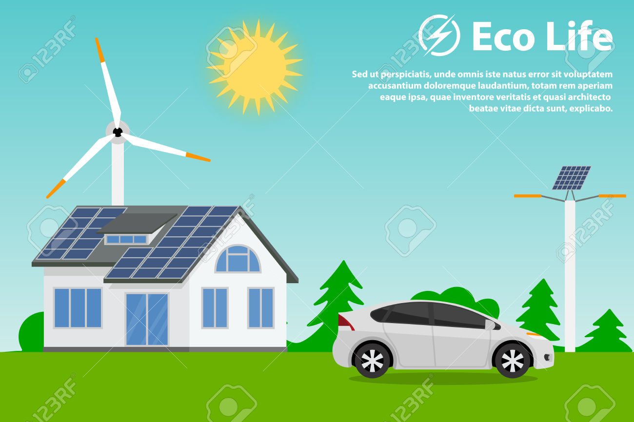 Preserving The Environment And Using Renewable Energy Sources.