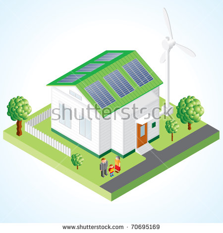 Wind Solar Panels Stock Images, Royalty.