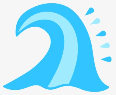 Free Wave Png Clip Art with No Background.