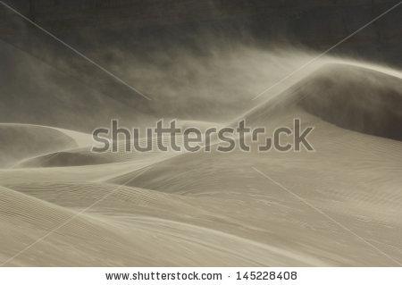 Sand Dunes Stock Photos, Royalty.