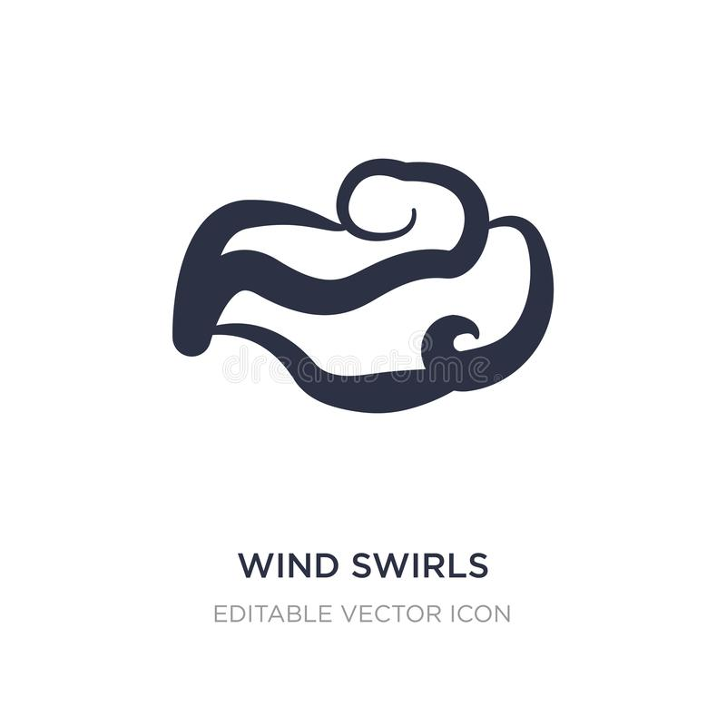 Wind Swirls Stock Illustrations.