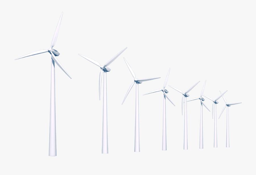 Wind Turbine Png.