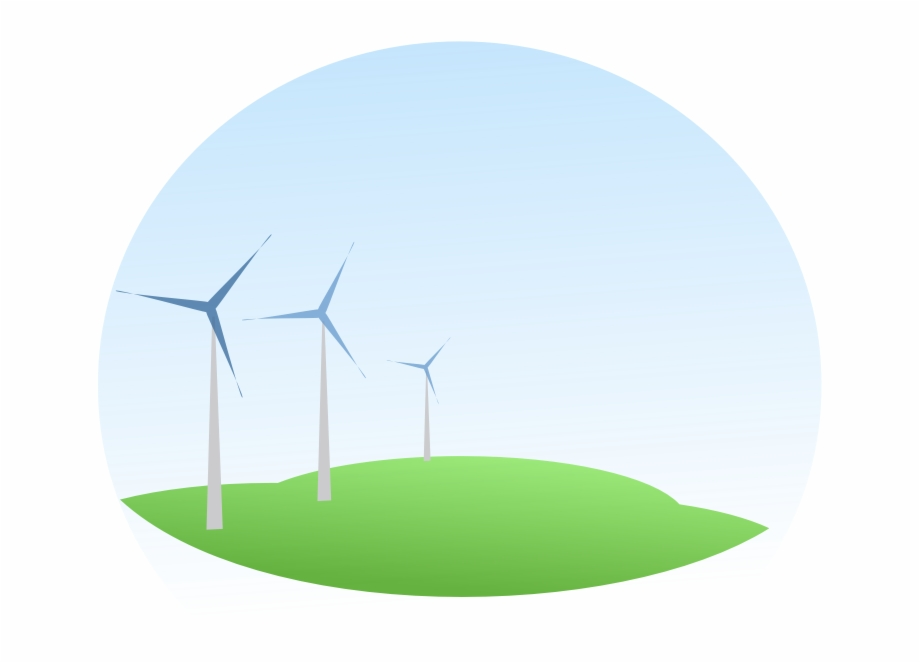 Clipart Wind Mills Wind Energy Transparent Background.