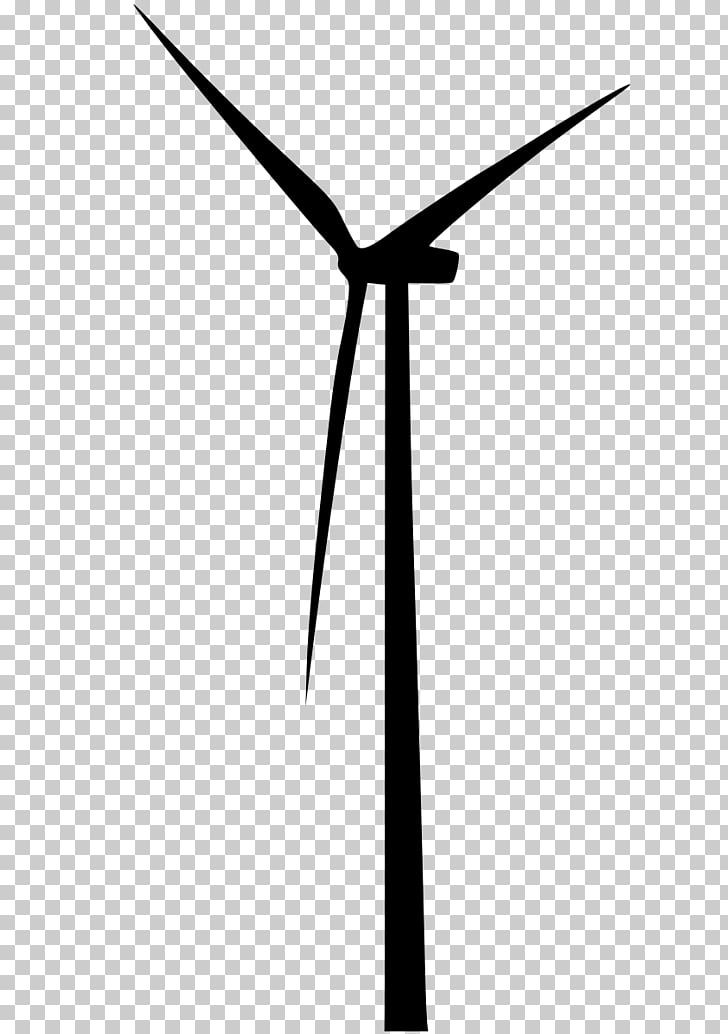 Wind farm Wind turbine Energy Machine, wind PNG clipart.