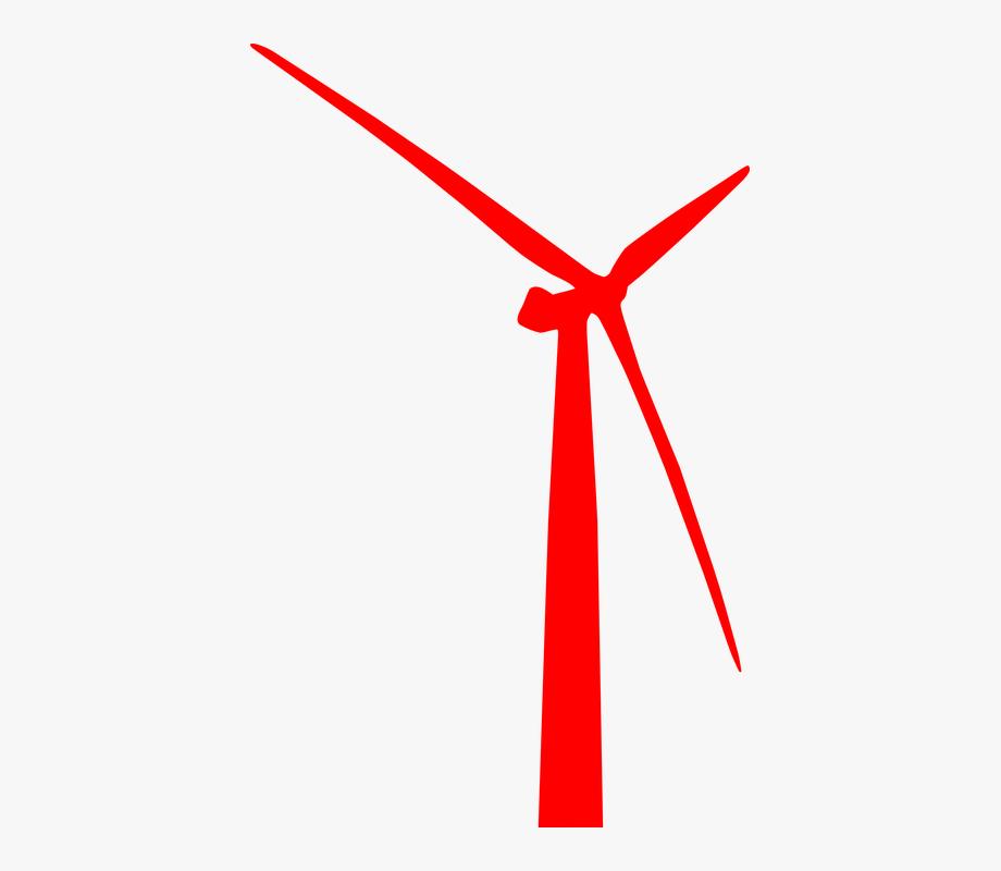 Energies Clipart Wind Generator.