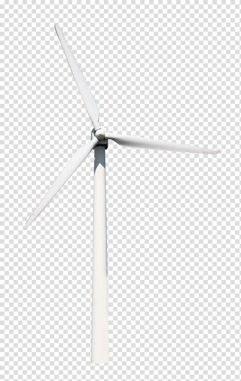 White windmill, Wind turbine Energy, Windmill transparent background.