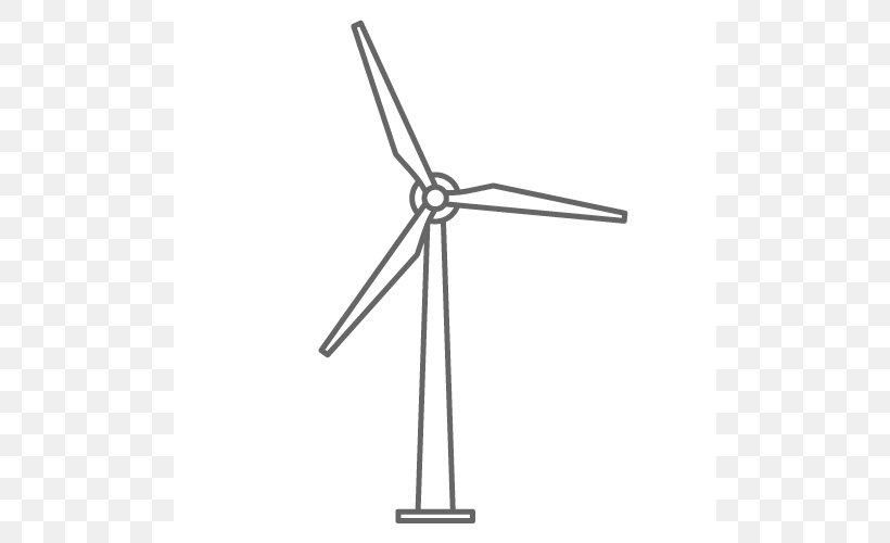 Wind Farm Wind Turbine Wind Power Clip Art, PNG, 500x500px.