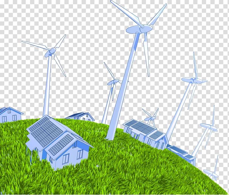 Wind power Wind turbine Solar power Electric generator, wind.