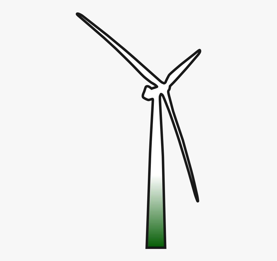 Wind Turbine 2 By Erlandh Wind Turbine Icon.