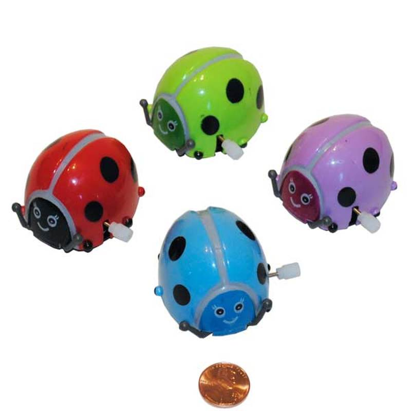Wind Up Flipping Ladybug Toy (24 total ladybugs in 2 bags) 94¢ each.