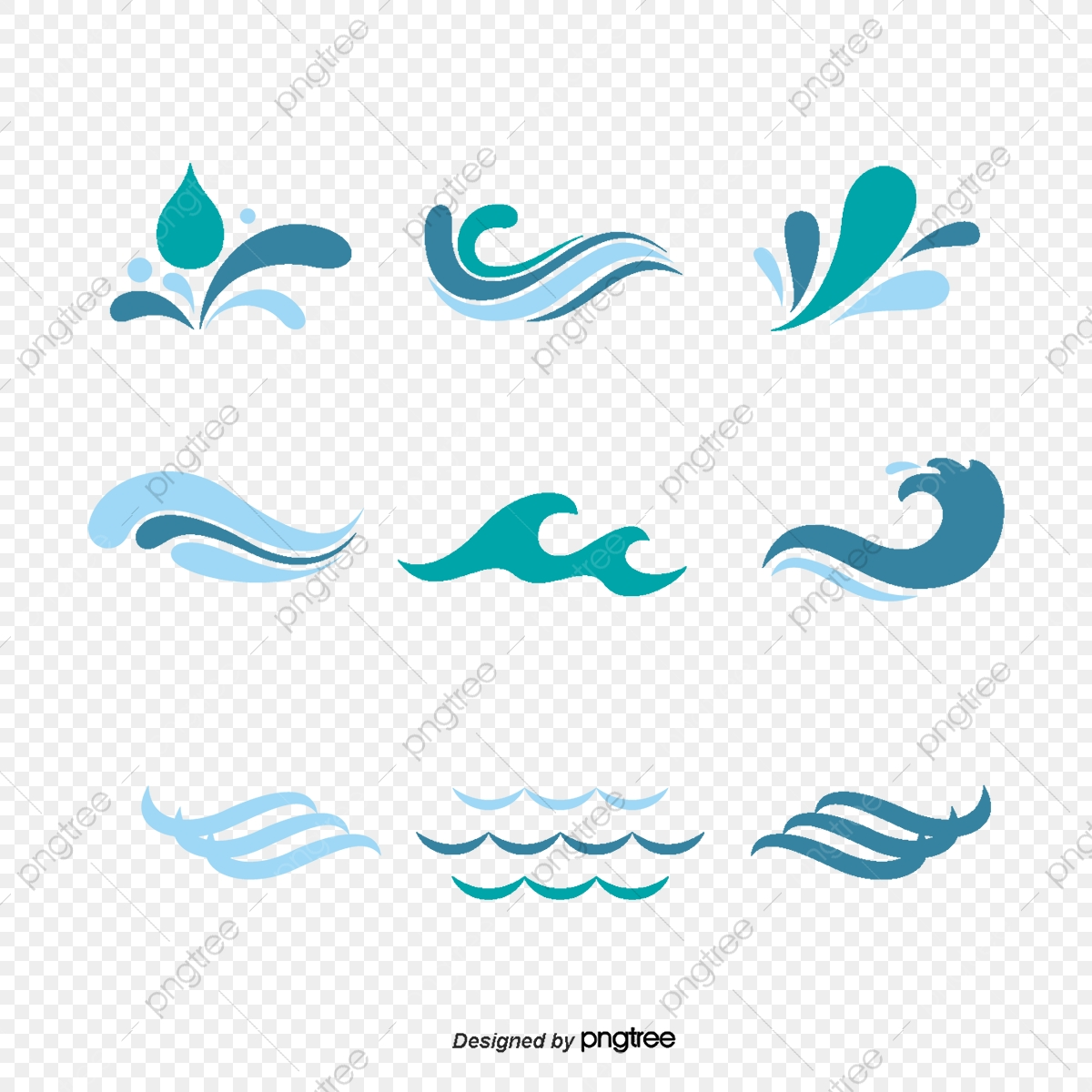 Hand Painted Wind Vector Icons, Wind Vector, Windy, Vector PNG and.