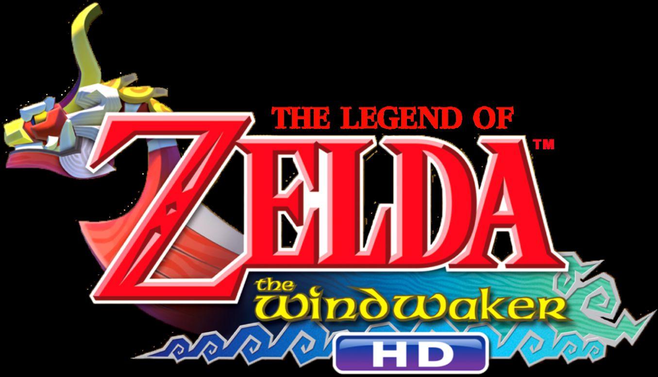 The Legend Of Zelda The Wind Waker Logo.