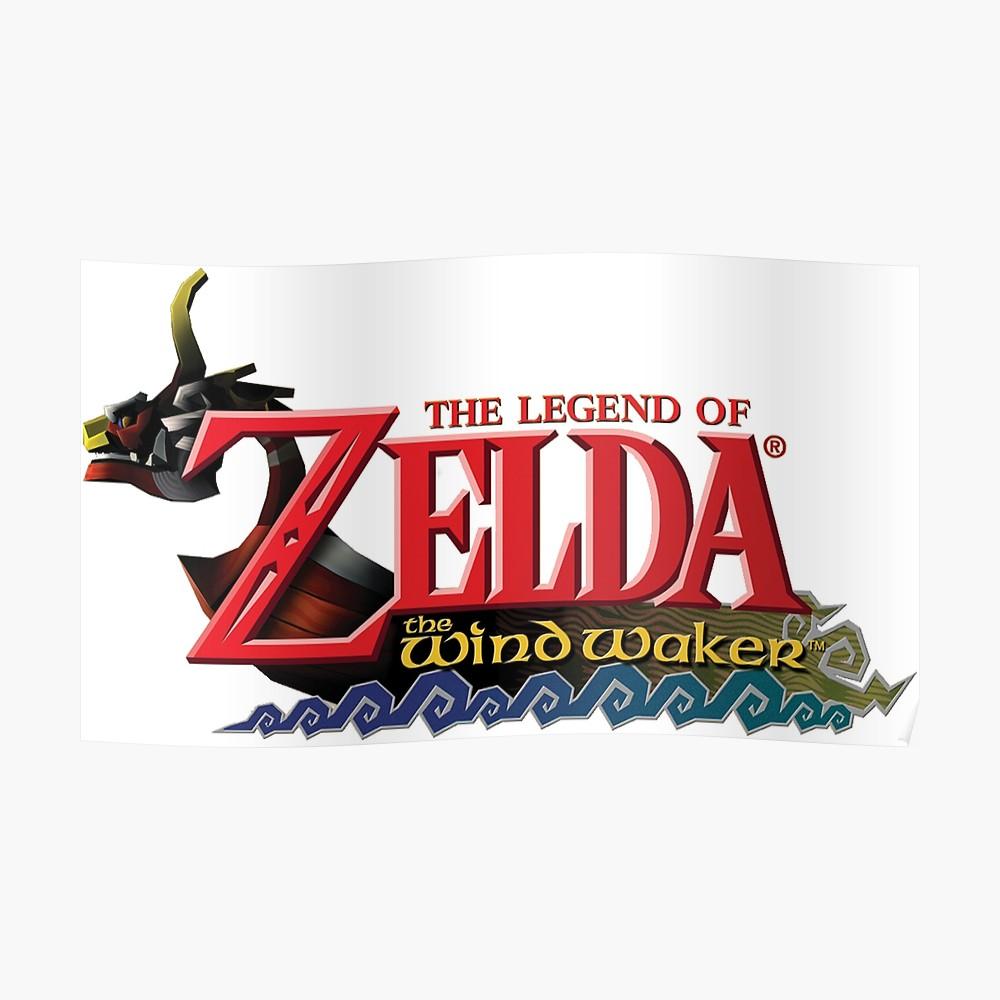 The Legend of Zelda Windwaker Logo\