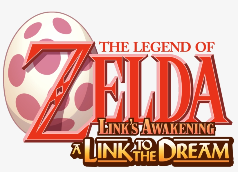 Nouveau Logo Pour Zelda A Link To The Dream Par @olivclr.