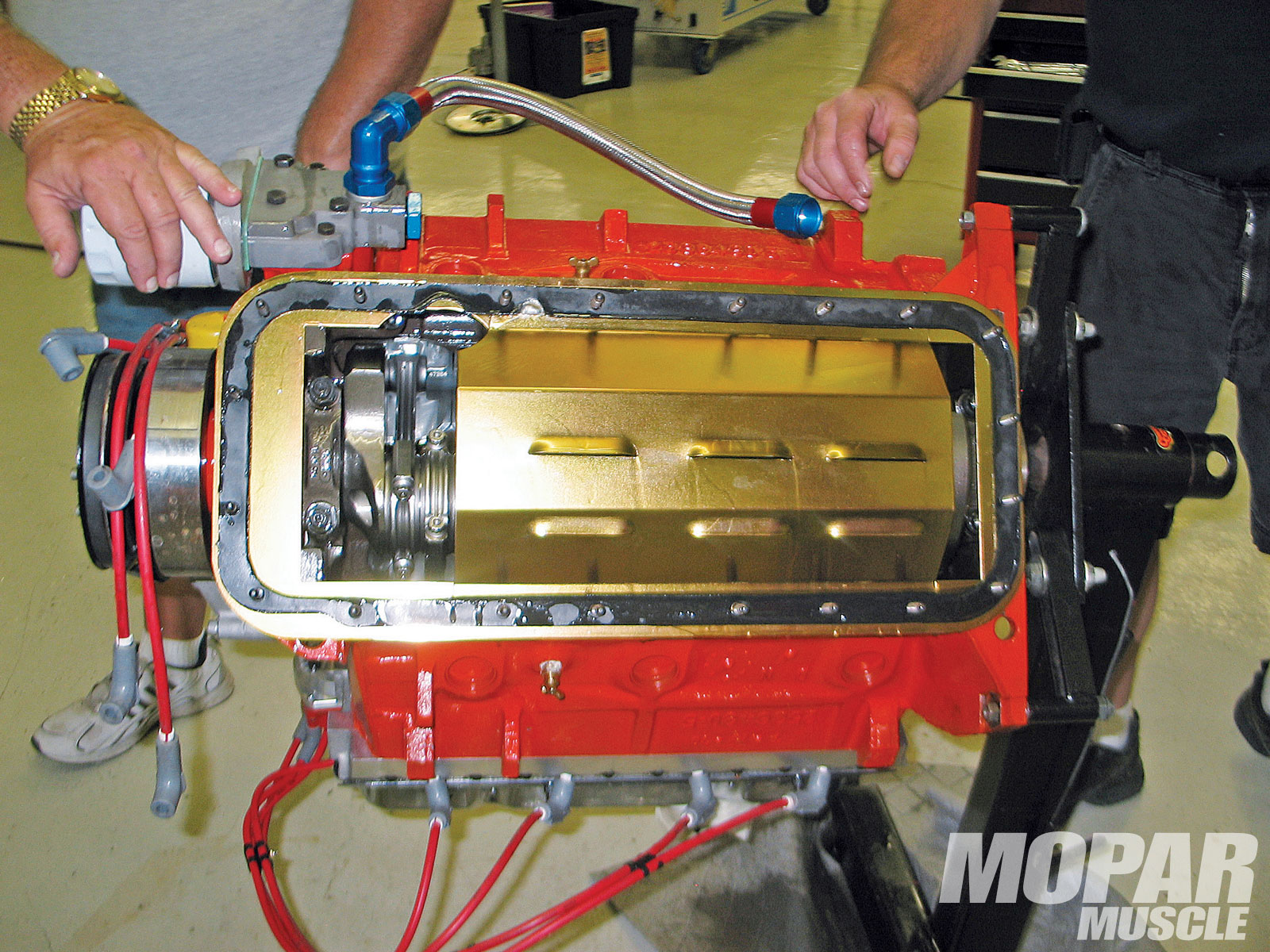 Choosing The Best Oils For Your Mopar Engine.
