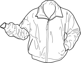 2965 Jacket free clipart.