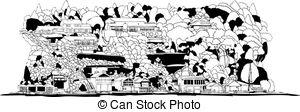 Windermere Vector Clipart Illustrations. 2 Windermere clip art.