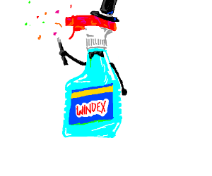 Windex the Magnificent.