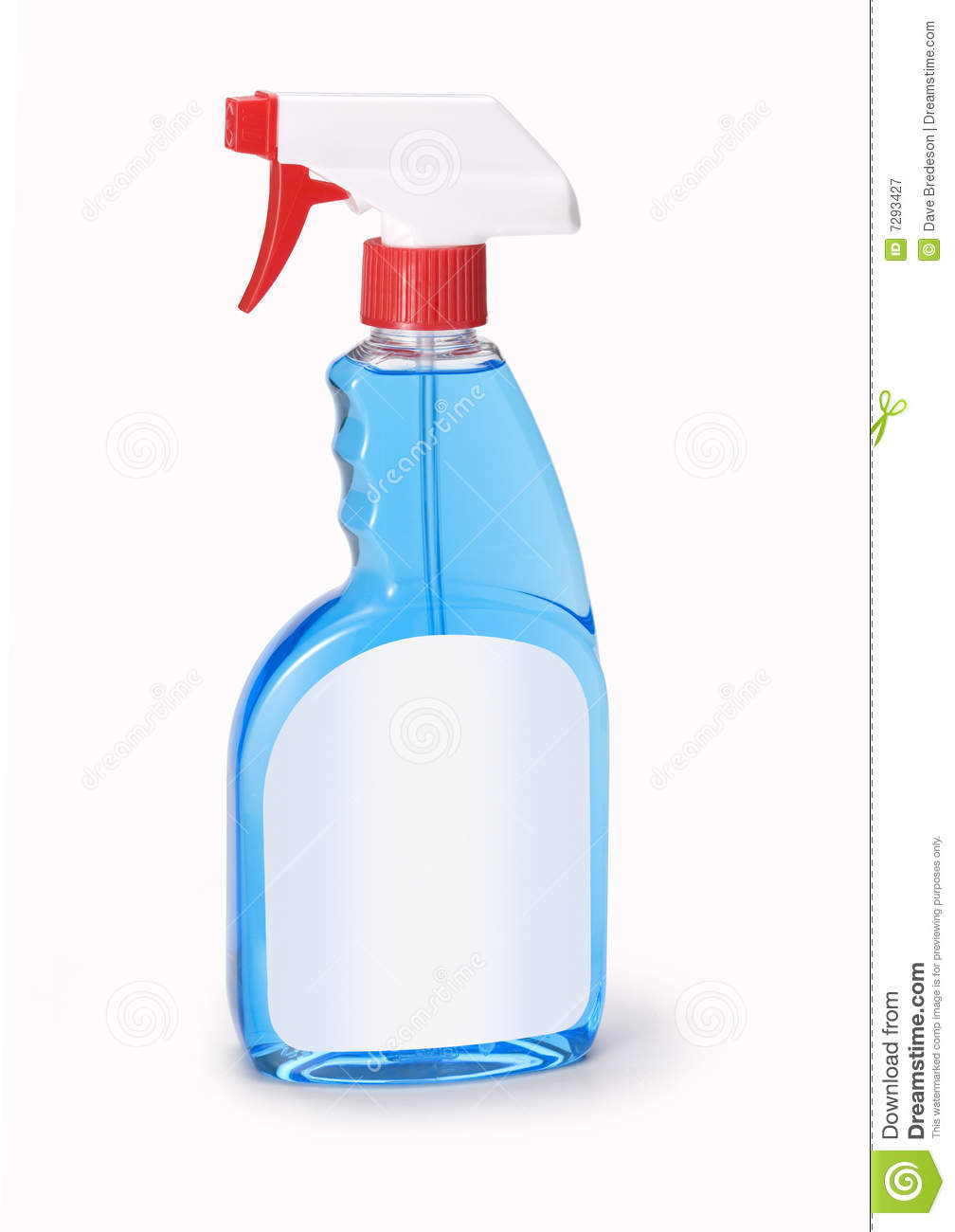 Bottle Windex Window Cleaner Royalty Free Stock Photography.