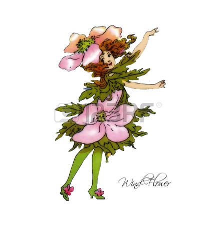 72 Windflower Stock Illustrations, Cliparts And Royalty Free.