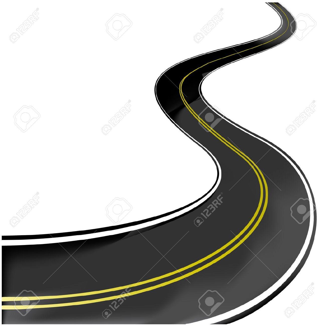 Winding Road Clip Art.