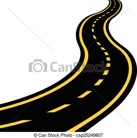clipart winding road - Clipground