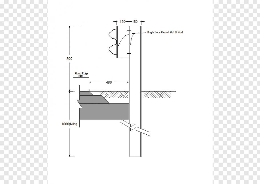 Drawing Guard rail Computer.