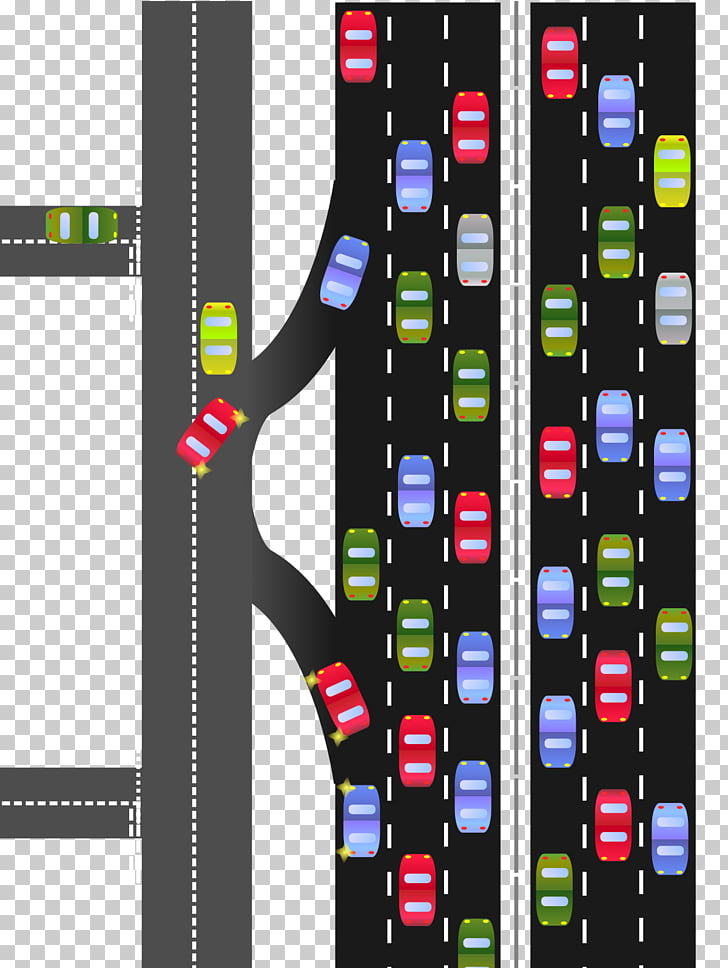Frontage road Highway Thoroughfare, road PNG clipart.
