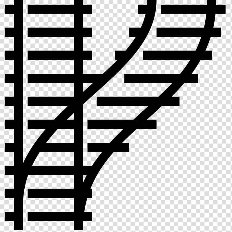 Rail transport Train Track Computer Icons Rail profile, Rail.