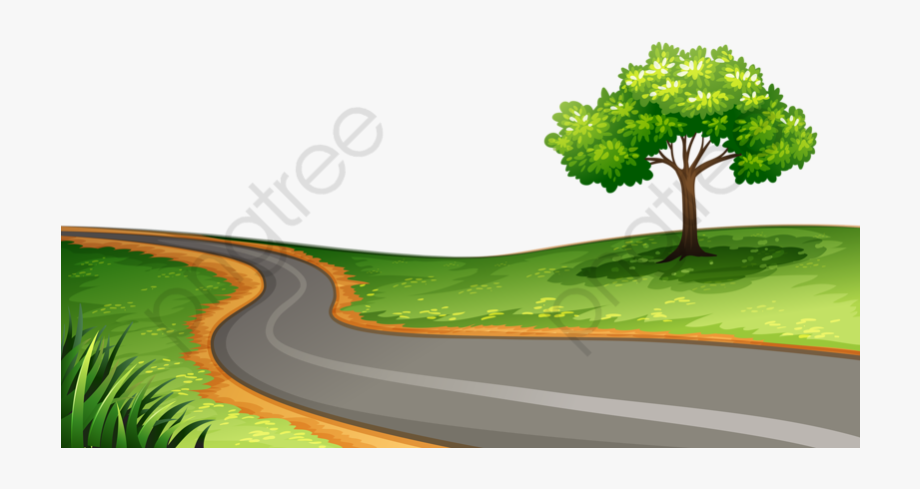 Winding Road Clipart.