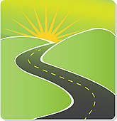 11350 Road free clipart.