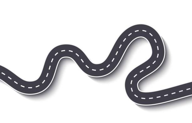 Winding Road Clipart Free.