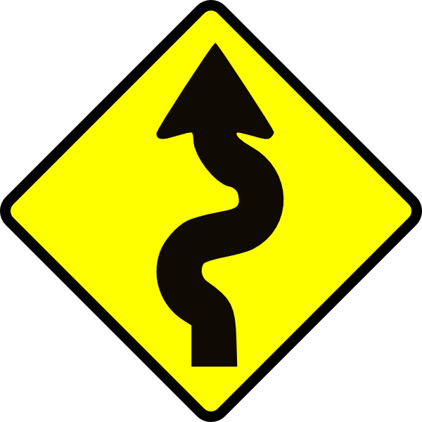 Winding Trail Clipart.