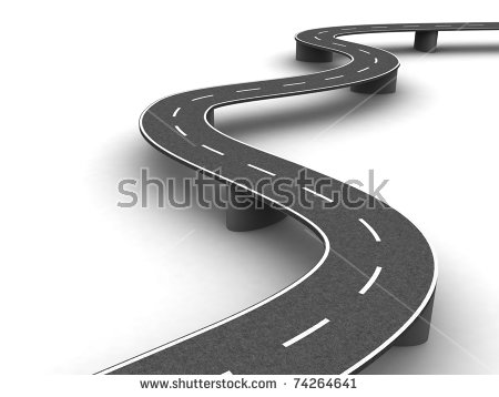 """rendering The Road"""" Stock Photos, Royalty."""