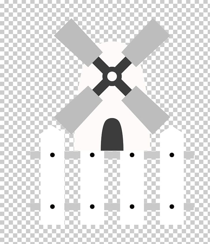 Netherlands Windmill Icon PNG, Clipart, Angle, Black, Black.
