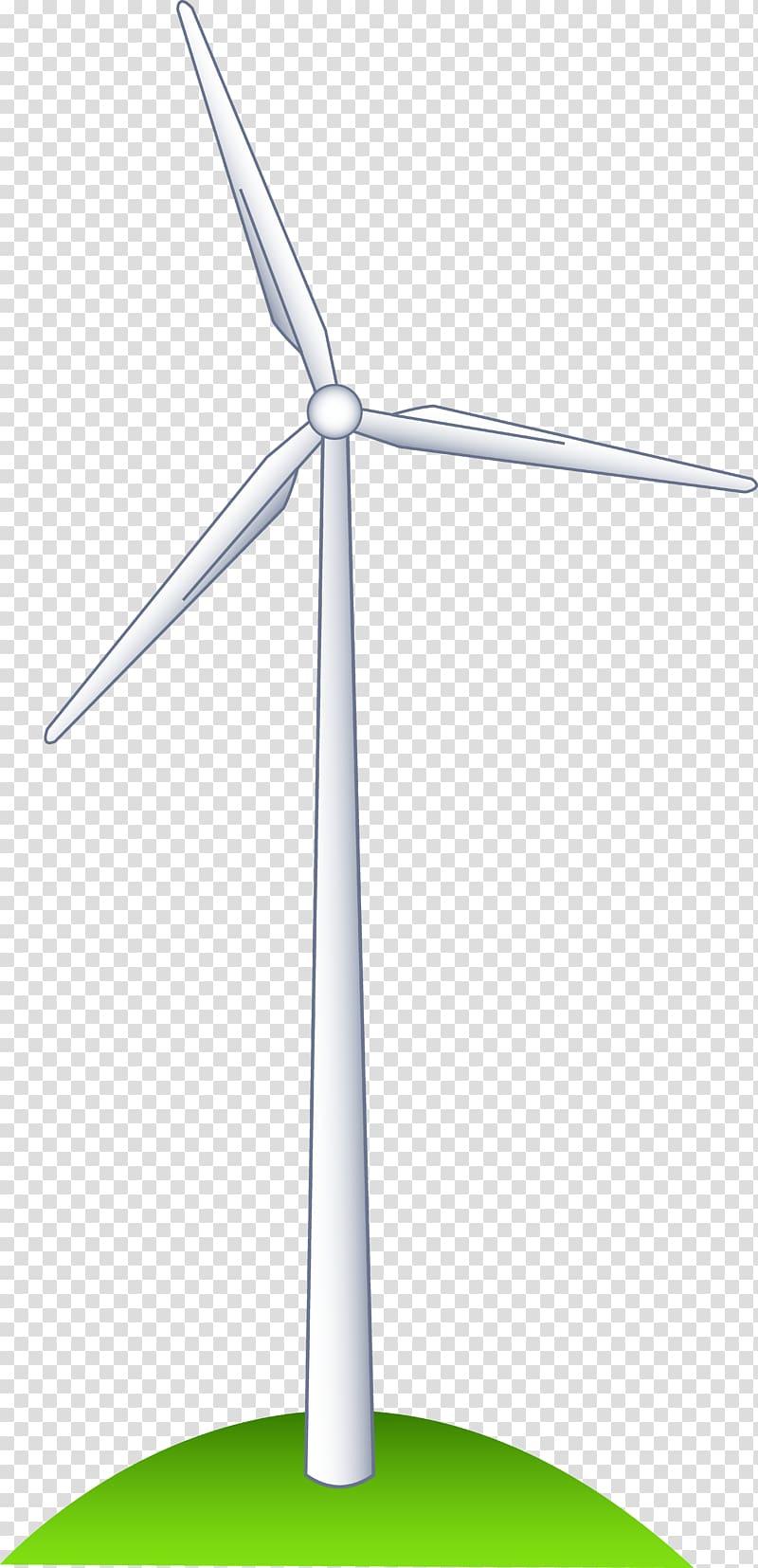 Wind farm Wind turbine Windmill Wind power , wind.