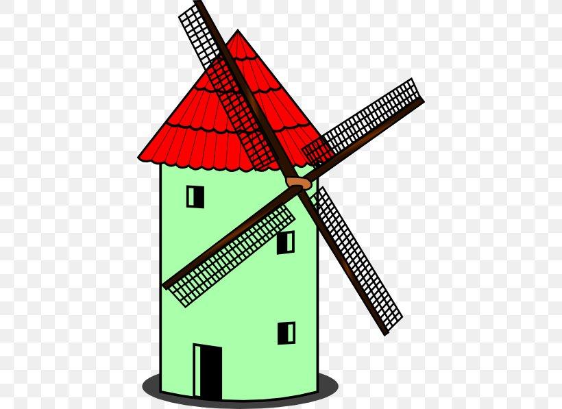Windmill Cartoon Clip Art, PNG, 420x597px, Windmill, Area.