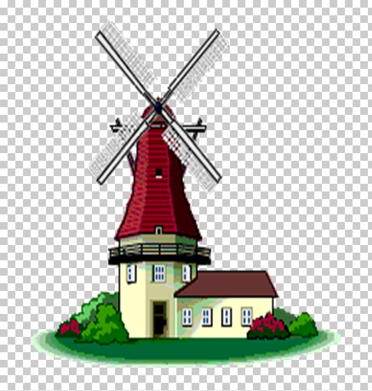 Windmill Animation , Animation PNG clipart.