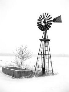 Australian Windmills Clipart.