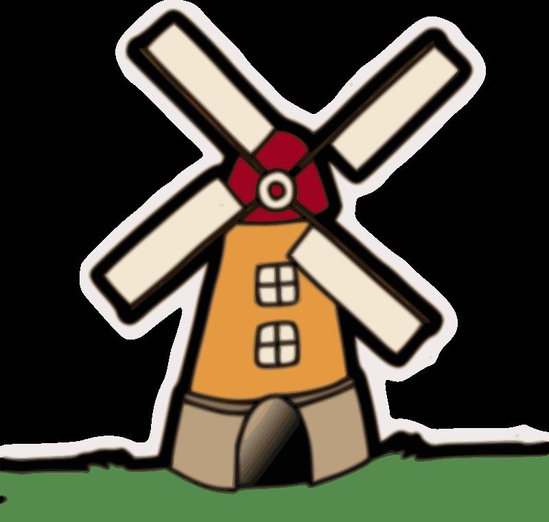 Free Clipart: Windmill.