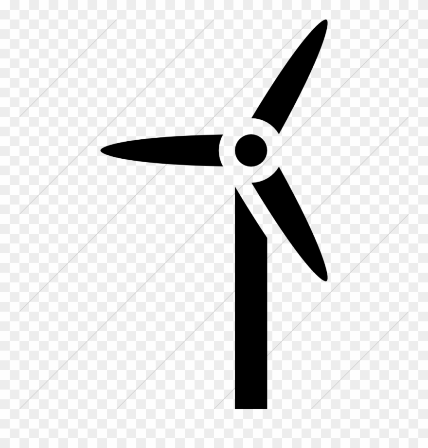 Wind turbine,Illustration,Propeller,Line,Font,Logo,Clip art,Windmill.