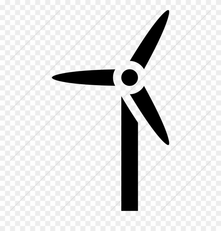 Wind turbine,Illustration,Propeller,Line,Font,Logo,Clip art,Windmill.