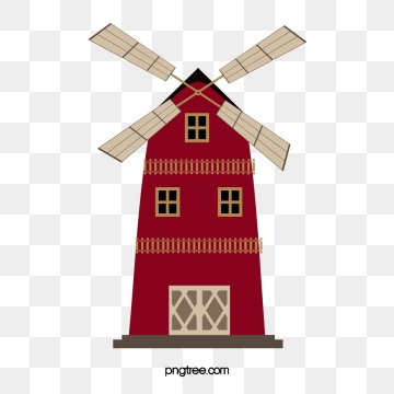 Windmill Png, Vector, PSD, and Clipart With Transparent Background.