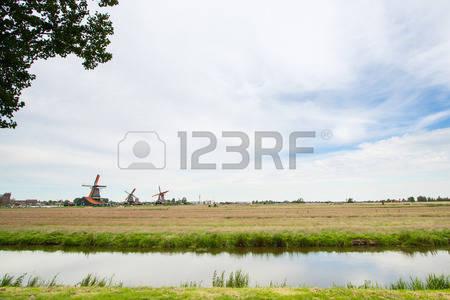 Windmill village clipart #10