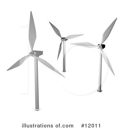 Windmills Clipart #12011.