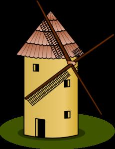 Windmill Clip Art at Clker.com.
